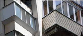 Остекление балкона выносом хрущевке сталинке.